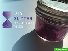 Add some sparkle to your kiddo's cleaning routine! This DIY timer is the perfect way to make sure your kids are cleaning for the recommended time.