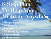 8-Step Plan To Help You Meditate Anywhere