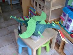 What is a knight without a dragon to vanquish? Just a dude with a sword. So I had a hunt online for a dragon pinata and found one for sa. Pinata Dragon, Dragon Cakes, Dragon Party, Dragon Project, Dragon Birthday Parties, 5th Birthday, Make A Dragon, Medieval Party, Niklas