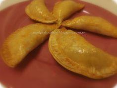 Empanadillas de pollo a la carbonara