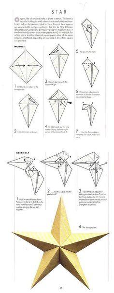 Manually the DIY * - * ^ o ^ * ~ * Star