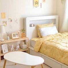 Room Design Bedroom, Room Ideas Bedroom, Small Room Bedroom, Home Bedroom, Bedroom Decor, Bedrooms, Study Room Decor, Cute Room Decor, Pastel Room