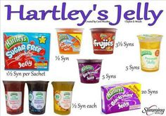 Jelly - Syn levels for slimming world - double check Slimming World Shopping List, Slimming World Syns List, Slimming World Syn Values, Slimming World Free, Slimming World Desserts, Slimming Word, Slimming World Recipes Syn Free, Slimming Eats, Healthy Eating Tips