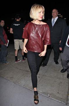 "Sienna Miller - ""American Sniper"" LA Screening - Isabel Marant top / Siwy Denim jeans"