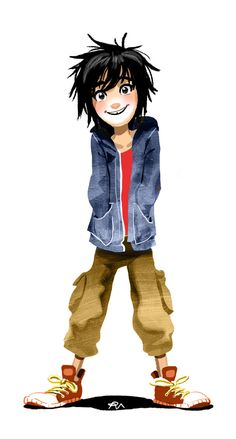Hiro Hamada Big Hero 6 by zPePhungz. CUTE Yeah I'm going to be pinning a bunch of Big Hero 6 stuff since its pretty much my new obsession movie