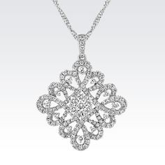 It's one of the most special days of your life! You deserve to sparkle in this diamond swirl pendant. #ShaneCoChic