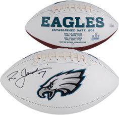 7f8ea2827e0 Ron Jaworski Philadelphia Eagles Autographed White Panel Football Ron  Jaworski, Nfl Football, College Football