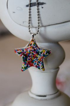 Resin Candy Necklaces Love it ~ must try! #ecrafty