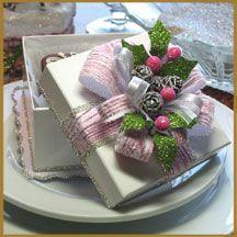 """Pink """"Christmas Gift Box"""""""