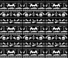 Supernatural  fabric by traceygurney on Spoonflower - custom fabric OMGGGGosh