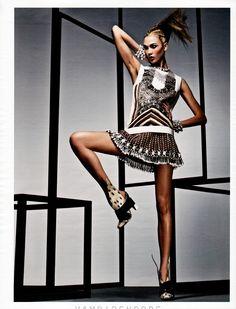 Karlie Kloss – W Magazine April 2012 by Craig McDean