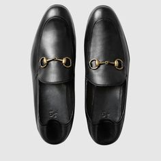 582b16bc67b Gucci Horsebit leather loafer Mens Leather Loafers