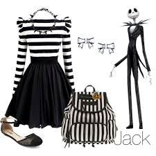 Jack Skellington inspired outfit