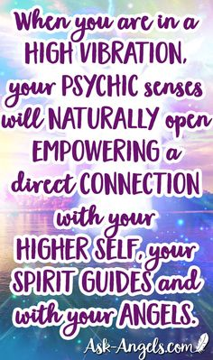 When you are in a high vibration, your psychic senses will naturally open empowering a direct connection with your higher self, your spirit guides and with your angels. Spiritual Guidance, Spiritual Awakening, Angel Guidance, Positive Books, Irish Quotes, Healing Quotes, Psychic Readings, Psychic Abilities, Spirit Guides