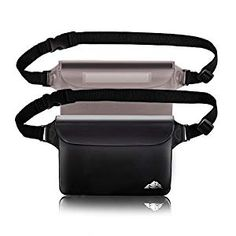 HEETA Waterproof Pouch with Waist Strap, Screen Touchable Dry Bag with Adjustable Belt for Phone Valuables for Swimming Snorkeling Boating Fishing Kayaking Kayak Storage, Bag Storage, Waterproof Fanny Pack, Laptop Bag For Women, Swimming Diving, Computer Bags, Pouch, Wallet, Water Activities