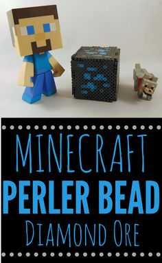 A perfect summer craft for any Minecraft fan. It's not only easy, but it can function as a nightlight. Camping Crafts For Kids, Activities For Kids, Kids Camp, Minecraft Perler, Minecraft Crafts, Ldr Gifts, Amazing Minecraft, Rainy Day Fun, Beaded Boxes