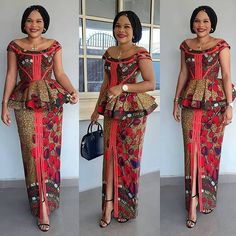 101 Latest Stylish and Creative Ankara skirt and blouse styles for wedding Guest Vol <br> Best African Dresses, Latest African Fashion Dresses, African Print Dresses, African Attire, Ankara Fashion, Ankara Rock, Ankara Skirt, African Print Dress Designs, Ankara Designs