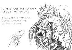 """""""Planing a bigger project.. drawing Nalu in the middle again… jesus I need help """""""