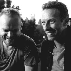 So cute those two! coldplay animated GIF