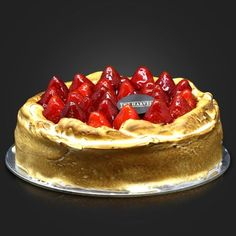 Strawberry Cheese :  One of the champions of The Harvest product line-up. A party special that is loved by all. Vanilla flavored baked cheese cake with creamy smooth texture, lace of white meringue and freshly picked strawberries