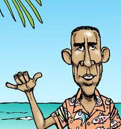 Presumptuous Politics: Hawaii Obama Cartoons
