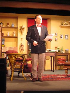 Peter as Andrew Wyke in Sleuth April 2007