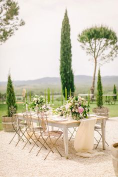 Blush, Rose & Green: A Truly Tuscan Inspired Wedding Shoot!