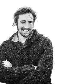 This is not fair.  Lee Pace, in a sweater with a beard!?  I give up.