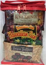 """""""Special"""" Hawaiian Sun Assorted Macadamia Nut Chocolate Candies In A Gift Tote Pouches Hawaiian Candy, Chocolate Candies, Snack Recipes, Snacks, Toffee, Pouches, Chips, Sun, Gifts"""