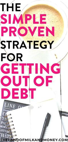 This is an amazing way for me to become debt free! This strategy makes so much sense - I can't WAIT to finally pay off my debt! Ways To Save Money, Money Tips, Money Saving Tips, How To Make Money, How To Get, Money Plan, Money Savers, Managing Money, Living On A Budget