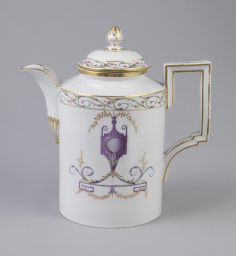 Teapot And Lid, 1780–1800