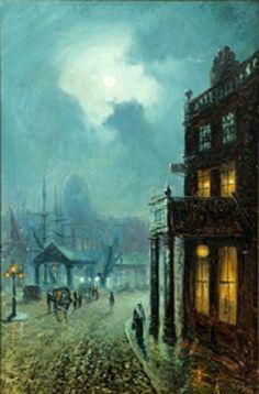 Walter Linsley Meegan (British, 1859–1944) Title: Moonscape