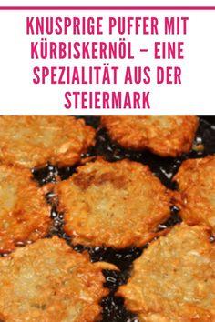 In der Steiermark ist die Küche bodenständig, die Gerichte sind deftig, nahrhaft und was vielleicht noch wichtiger ist, sie sind schmackhaft. Der Kürbis oder genauer gesagt der Ölkürbis, ist so etwas wie die Nationalfrucht in der Steiermark. Nur dort wächst diese mutierte Sorte, deren Kerne keine harte Schale haben. #ofenliebe #affektblog #Kürbiskernöl #Rezept Chicken, Meat, Food, Food Ideas, Easy Meals, Essen, Meals, Yemek, Eten