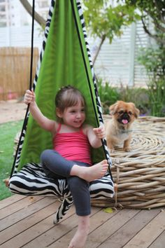 Free Shipping - Hang Mini children's Hammock Seat - hanging chair / swing for…
