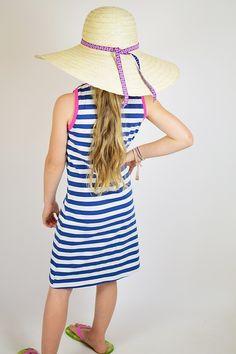 Freebook lillesol basics No.56 Strandkleid *kostenloses Schnittmuster*