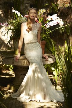 Magnolia Gown // Meet Me in the Garden: BHLDN's Spring 2015 Collection