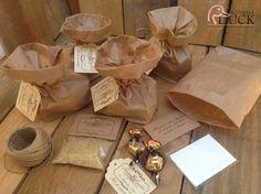 Kit de invitados boda: arroz+pañuelo+caramelos