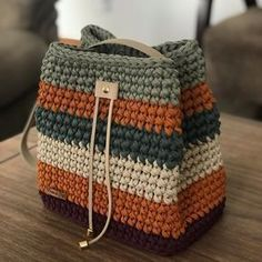 Collection of Crochet Handbag Free Patterns: Crochet Tote Bags, Crochet Crochet Bags, Crochet Purses via, This post was discovered by Sjm, DisHow to Crochet a Cozy Mat – Livemaster - SalvabraniDiscover thousands of images about Carpet Knitting Croc Free Crochet Bag, Crochet Tote, Crochet Handbags, Crochet Purses, Crochet Crafts, Crochet Stitches, Crochet Baby, Crochet Patterns, Diy Crafts