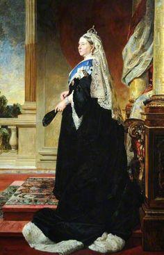 Queen Victoria (1819–1901) by Von Angeli, Oil on Canvas 1885.