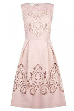 Blush Lace. The detail is absolutely gorgeous!