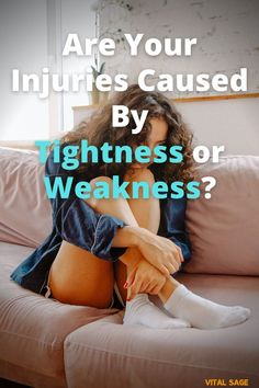 There has long been a debate over whether injuries are caused by tightness or weakness. Find out the truth about what's going on when you get injured. #ankle #anklemobility #anklestability #anklesprain #anklepain Ankle Mobility Exercises, Ankle Pain, Sprained Ankle, Squats, Fitbit, Tips, Squat, Squat Challenge, Counseling