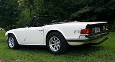 1971 TR6 with Konig Wheels and Falcon sports exhaust.