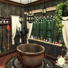 The Sims, Sims 4, Sims Building, Clawfoot Bathtub
