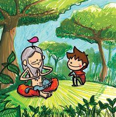 Ioga! Doodle Icon, Turu, Cute Doodles, Yoga For Kids, Disney Characters, Fictional Characters, Disney Princess, Creative, Color