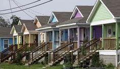 Musician's Village, New Orleans Louisiana Art, New Orleans Louisiana, New Orleans Voodoo, Shotgun House, Backyard Trees, Front Steps, Crescent City, Southern Living, Home Projects
