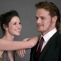 caitriona balfe and sam heughan - Google Search
