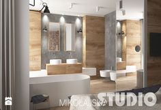 Salon Kąpielowy w industrialnym stylu