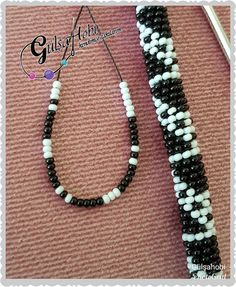 Image may contain: jewelry Crochet Bracelet Pattern, Bead Crochet Patterns, Bead Crochet Rope, Bracelet Patterns, Crochet Necklace, Beaded Necklace, Beaded Bracelets, Beaded Lanyards, Loom Beading