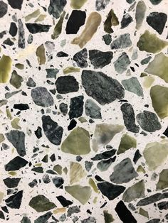 bCd - Terrazzo is an age old technique that's having a revival. Having laid it in our kitchen floor I can assure you in hides all mess, hardwearing and always looks fabulous 👍 Beautiful Kitchen Designs, Beautiful Kitchens, Terrazzo Flooring, Kitchen Flooring, Kitchen Countertops, Kitchen Cabinets, Diy Kitchen, Kitchen Decor, Kitchen Colors