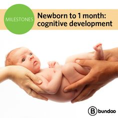 We joke that all newborns do is eat, sleep, and poop… But they're actually little sponges soaking up information! Read about the milestones your newborn will reach during his first month.